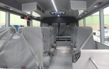 18 seat school bus interior
