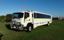 Isuzu 46 Seat 2WD FVD mine coach