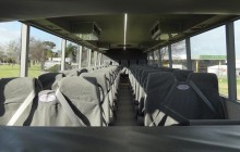 50 seat school bus interior