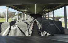 50 seat school bus interior